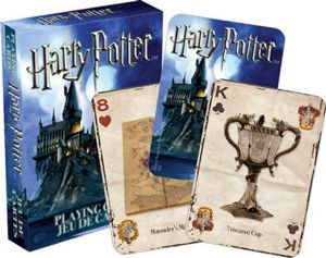 Harry Potter set of 52 playing cards (+ jokers)    (nm 52330)